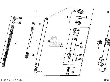 Honda Xr80r 1999 (x) Usa parts list partsmanual partsfiche