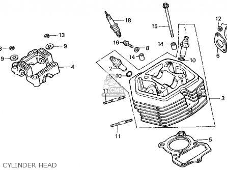 Honda XR80R 2001 (1) USA parts lists and schematics