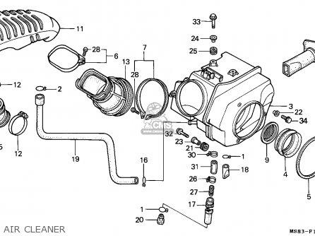 Honda Xrv650 Africa Twin 1988 (j) Finland parts list