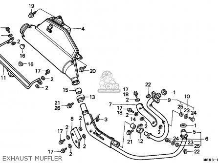 Honda Xrv650 Africa Twin 1989 (k) Netherlands parts list