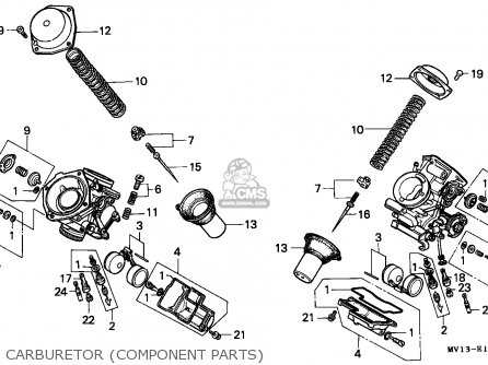Honda Xrv750 Africa Twin 1990 (l) Austria parts list