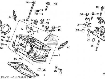 Honda Xrv750 Africa Twin 1990 (l) Italy parts list