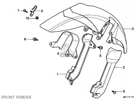 Honda XRV750 AFRICA TWIN 1991 (M) SWITZERLAND parts lists