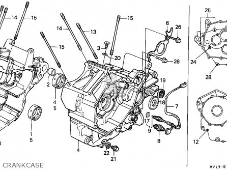 Honda XRV750 AFRICA TWIN 1992 (N) NORTHERN EUROPE parts