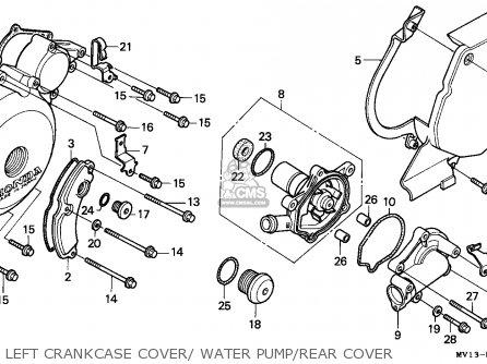 Honda Xrv750 Africa Twin 1992 (n) Spain parts list