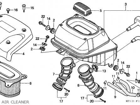 Honda XRV750 AFRICA TWIN 1994 (R) GERMANY / 50P parts