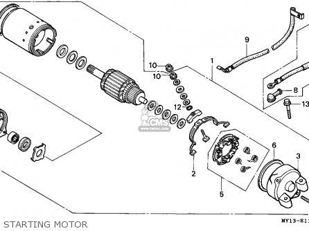 Honda XRV750 AFRICA TWIN 1994 (R) SWITZERLAND parts lists
