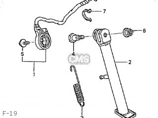Honda XZ50 APE 2001 (1) JAPAN AC16-100 parts lists and