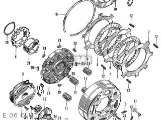 Honda Z50A FORMER MODEL U.S.A parts lists and schematics
