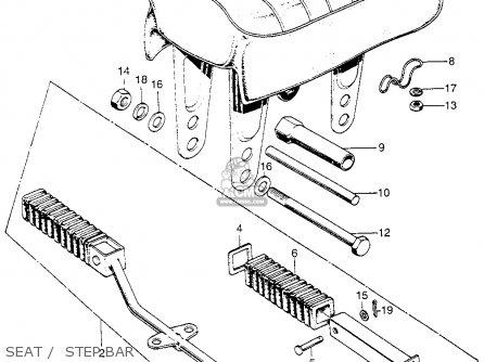 Honda Z50A MINI TRAIL 1968 Z50AK0 USA parts lists and