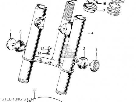 Honda Z50a Mini Trail 1968 Z50ak0 Usa parts list