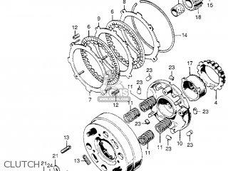 Honda Z50a Mini Trail 1972 Z50ak3 Usa parts list