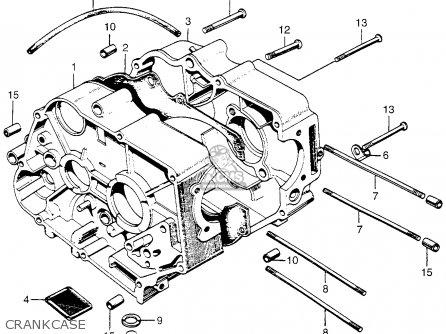 Honda Z50a Mini Trail K1 1969 1970 Usa parts list