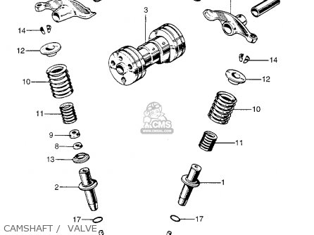 Honda Z50a Mini Trail K1 Usa parts list partsmanual partsfiche