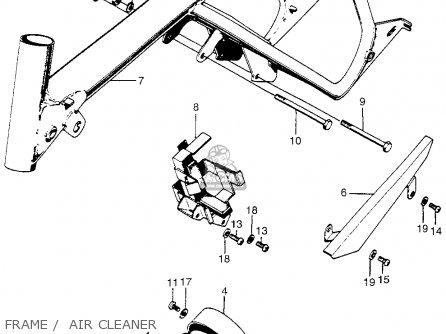single wire alternator diagram modine pa wiring honda z50a mini trail k2 1970 1971 usa parts list partsmanual partsfiche