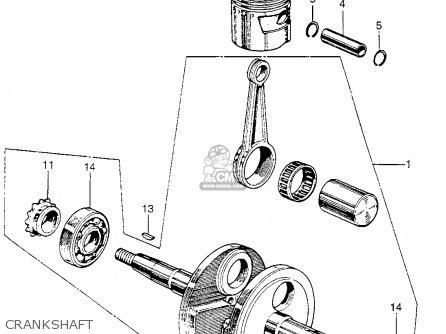 Honda Z50a Mini Trail K2 Usa parts list partsmanual partsfiche