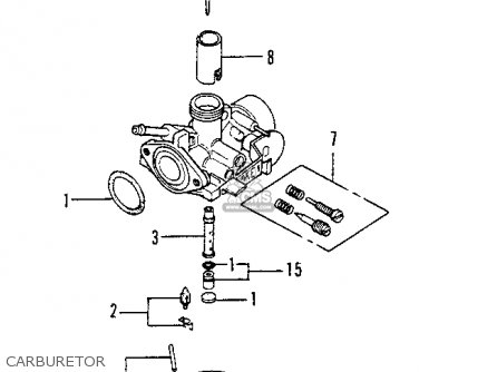 Honda Z50a Mini Trail K9 1978 Usa parts list partsmanual