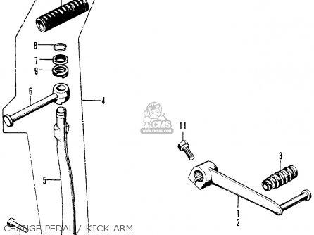 Honda Z50a Mini Trail K9 1978 Usa parts list partsmanual