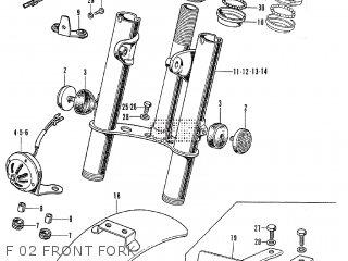 Honda Z50AK2 U.S.A parts lists and schematics