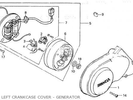 Honda Z50gz Gorilla Australia parts list partsmanual