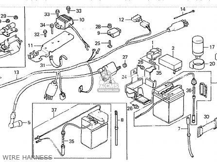 Honda Z50GZ GORILLA AUSTRALIA parts lists and schematics