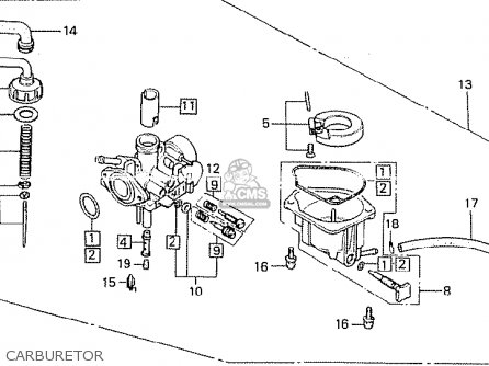 Honda Z50GZ GORILLA SOUTH AFRICA parts lists and schematics