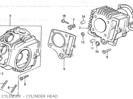 Honda Z50gz Gorilla South Africa parts list partsmanual