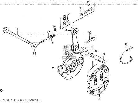 Honda Z50gz Gorilla Germany parts list partsmanual partsfiche
