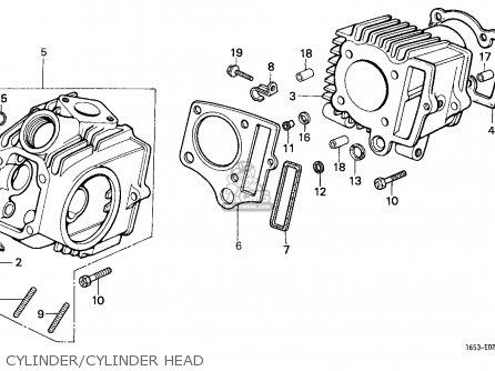 Honda Z50J MONKEY 1979 (Z) AUSTRALIA parts lists and