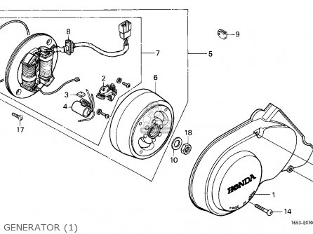 Honda Z50J MONKEY 1979 (Z) FINLAND parts lists and schematics
