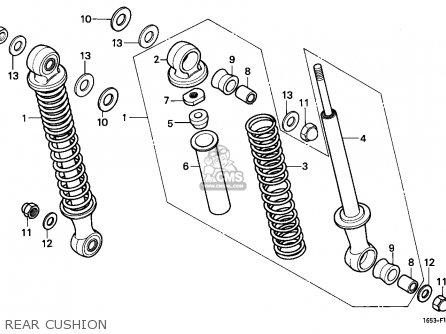 Honda Z50J MONKEY 1983 (D) FINLAND parts lists and schematics