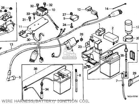 Honda Z50J MONKEY 1985 (F) GERMANY parts lists and schematics