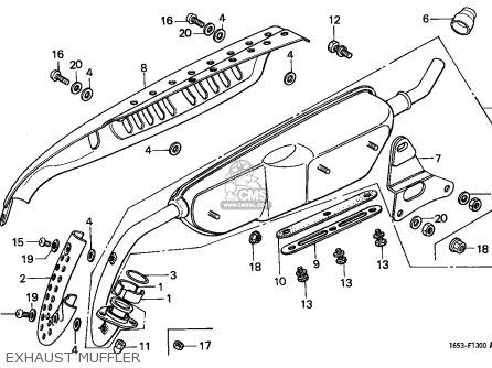 Honda Z50J MONKEY 1988 (J) FINLAND parts lists and schematics