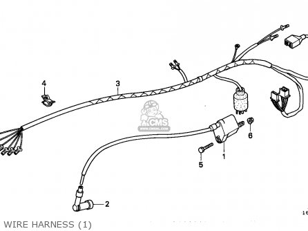 Honda Z50j Monkey 1991 (m) Finland Ms parts list