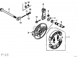 Honda Z50J MONKEY 2005 (5) JAPAN AB27-150 parts lists and