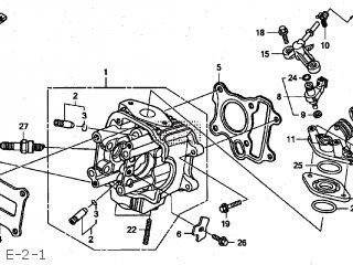 Honda Z50J MONKEY 2014 (E) JAPAN AB27-220 parts lists and