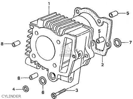 Honda Z50j1 Gorilla Japan parts list partsmanual partsfiche