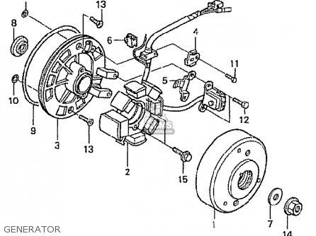 Honda Z50J1 GORILLA JAPAN parts lists and schematics