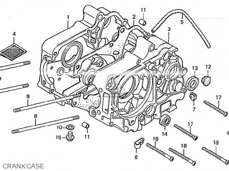 Honda Cb175 Engine Diagram Honda Z50 Engine Diagram Wiring