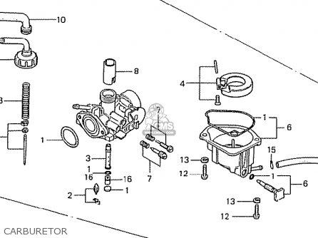 Honda Z50J1 MONKEY GENERAL EXPORT MPH parts lists and