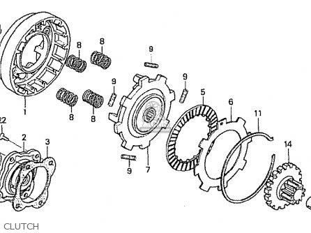 Honda Z50j2 Monkey Japan parts list partsmanual partsfiche