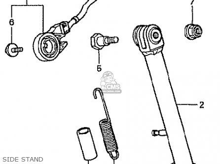 Honda Z50j2 Monkey Japan parts list partsmanual partsfiche