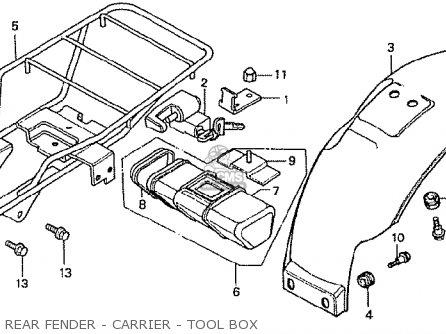 Honda Z50 Engine Diagram