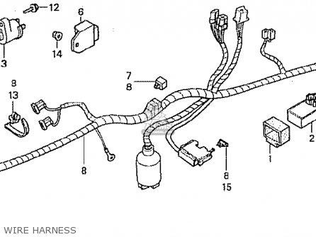 Honda Z50J6 MONKEY JAPAN parts lists and schematics