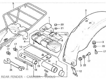 Honda Z50JH MONKEY FINLAND parts lists and schematics