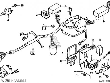 Honda Z50JM MONKEY BAJA JAPAN parts lists and schematics