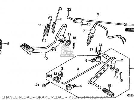 Honda Z50jr 1987 (h) Monkey R Japan Ab22-100 parts list