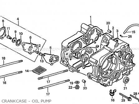 Honda Z50JR 1987 (H) MONKEY R JAPAN AB22-100 parts lists