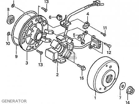 Honda Z50JV MONKEY JAPAN parts lists and schematics