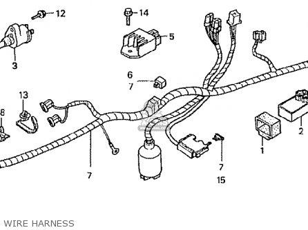 Honda Z50jw Gorilla Japan parts list partsmanual partsfiche